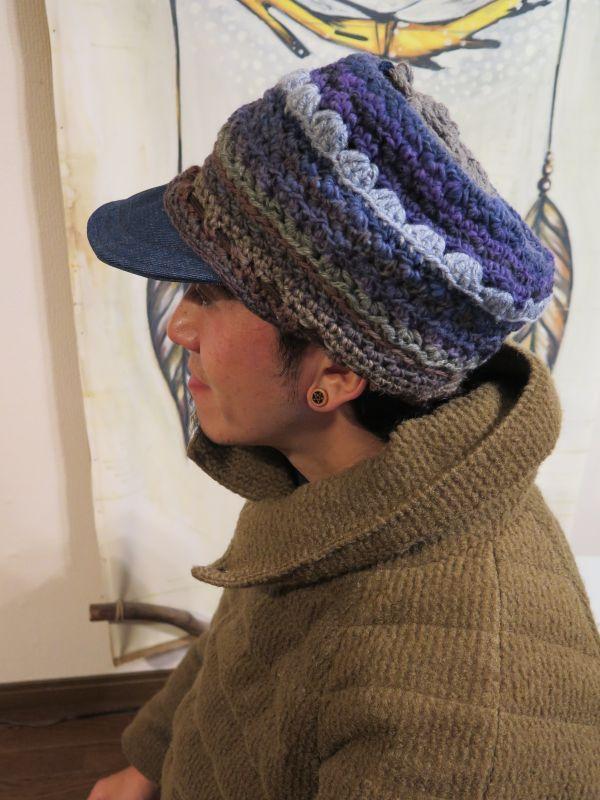 画像4: ゆったり*あったか帽子